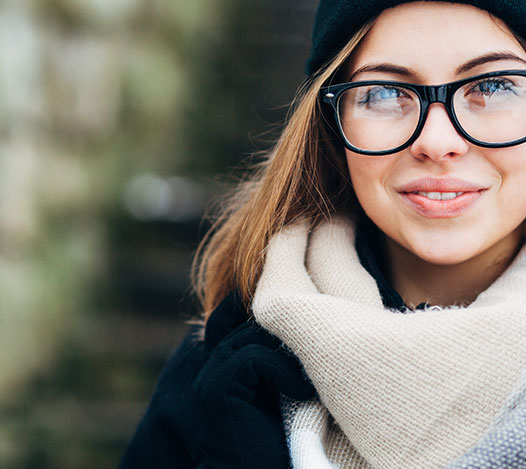Women's Winter Eyeglasses in Edmonton, Alberta